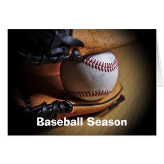 GreetingCard: Temporada de béisbol Tarjeta De Felicitación