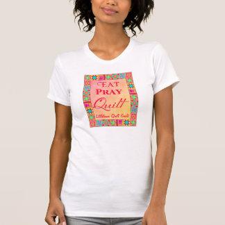 Gremio conocido de encargo del edredón del arte camiseta