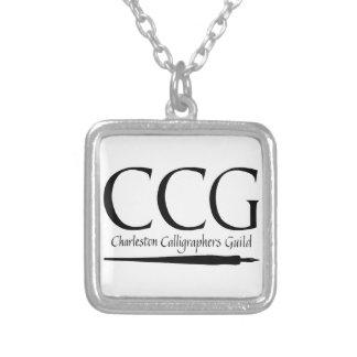 Gremio de los calígrafos de Charleston Collar Personalizado