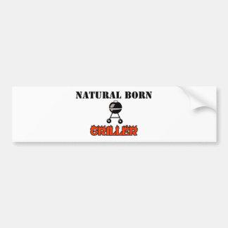 Griller llevado natural etiqueta de parachoque