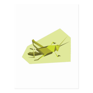 Grillo de Origami Postal