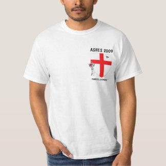 Grillo del inglés de la bandera de Inglaterra Camisetas