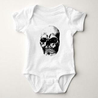 Gris 2 del cráneo los regalos de Zazzle del MUSEO Camisetas