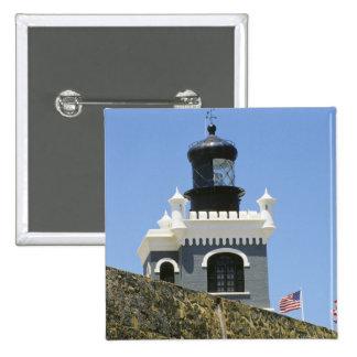 Gris de Fuerte San Felipe del Morro encastillado Chapa Cuadrada 5 Cm