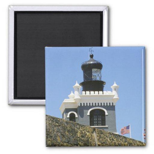 Gris de Fuerte San Felipe del Morro encastillado Iman Para Frigorífico
