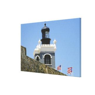 Gris de Fuerte San Felipe del Morro encastillado Lona Estirada Galerias