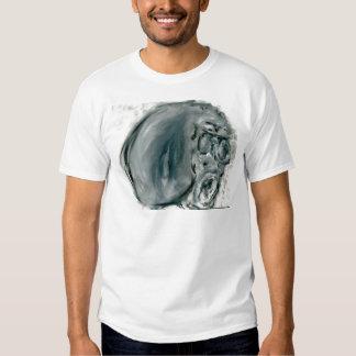 Gris de griterío camiseta