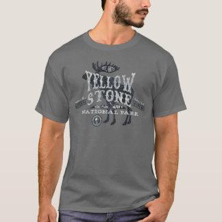 Gris de la camiseta de los alces del parque