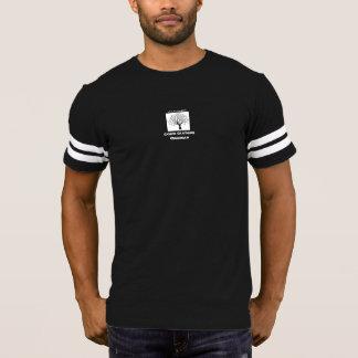 Gris de la camiseta del fútbol de los hombres de