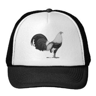 Gris Duckwing del gallo de pelea Gorras De Camionero