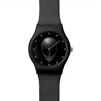 Gris en negro relojes