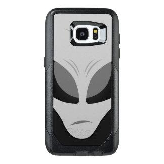 Gris extranjero de Reticulan de la zeta Funda OtterBox Para Samsung Galaxy S7 Edge