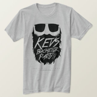 Gris-Fantasma de la despedida de soltero de Kevs Camiseta