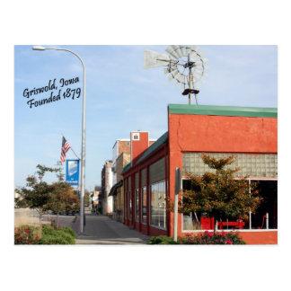 Griswold, postal del molino de viento de Iowa