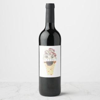 Grito etiquetas de la botella de vino
