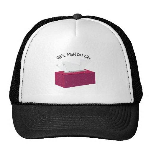 Grito real de los hombres gorras