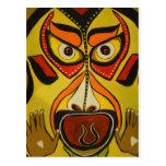 Grito tribal tarjetas postales