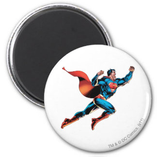 Gritos del superhombre imán redondo 5 cm