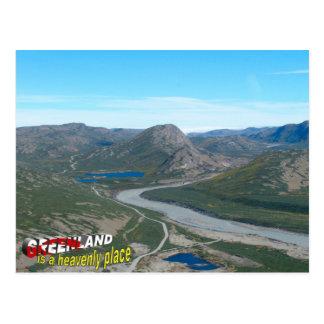 Groenlandia es un lugar divino postal