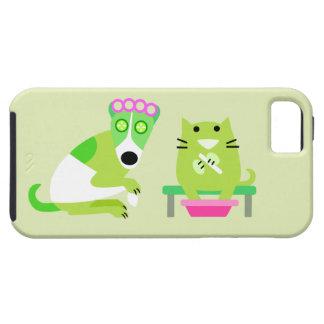 Groomer del mascota iPhone 5 Case-Mate cobertura