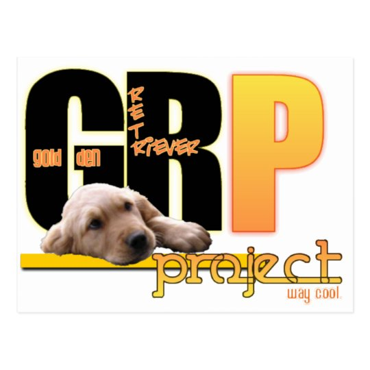 GRP - ¡PROYECTO DEL GOLDEN RETRIEVER - MANERA POSTAL