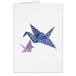 Grúa de Origami Tarjeton