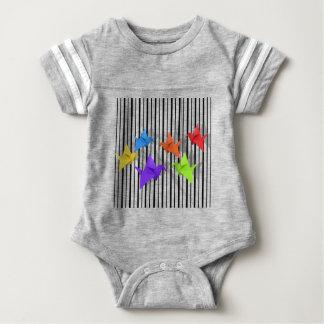 Grúas de papel body para bebé