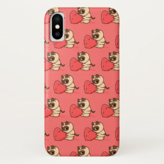 Grumpy cat  Love Funda Para iPhone X