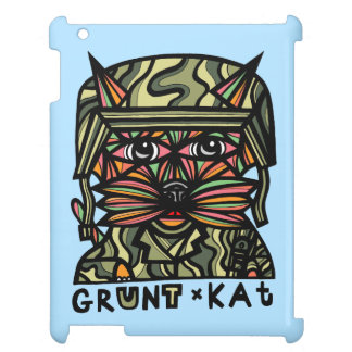 """""""Gruña el Kat"""" caso del iPad de 631 artes"""