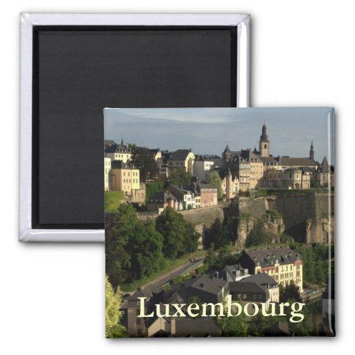 Grund, Luxemburgo Imán Para Frigorifico