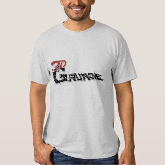 Grunge 3D Camiseta