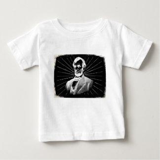grunge Abraham Lincoln Camiseta De Bebé