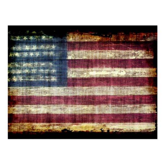 Grunge americano postal