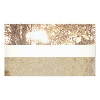 Grunge, árbol, espiritual, familia, reunión, tarjetas de visita