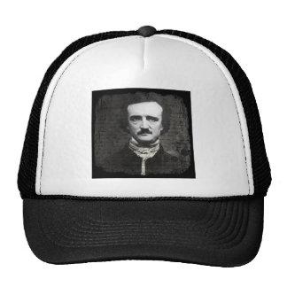 Grunge blanco y negro del Poe Gorro