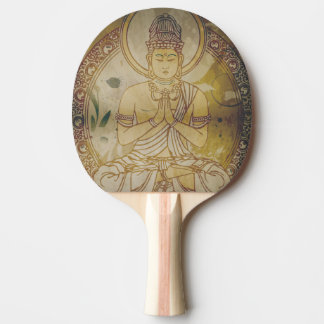 Grunge Buda del vintage Pala De Tenis De Mesa
