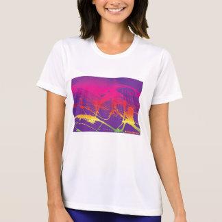 Grunge de Coloreful Camiseta