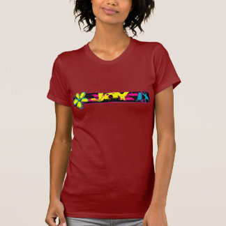 Grunge de la tira de la alegría camisetas