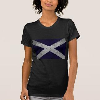 Grunge de Saltire Camisetas