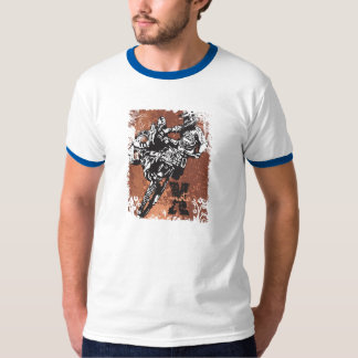 Grunge del motocrós camisas