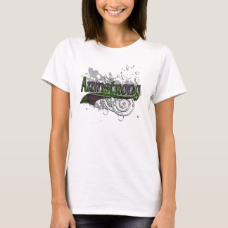 Grunge del tartán de Armstrong Camiseta