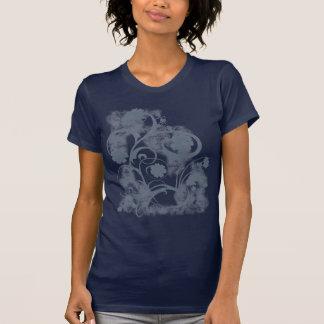 Grunge floral camiseta