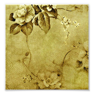 Grunge floral de Deco Fotos