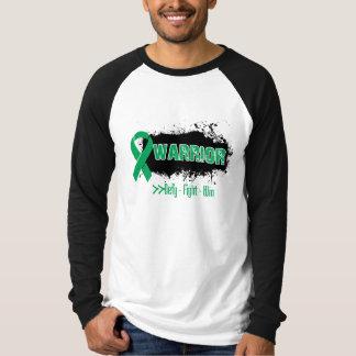Grunge - GUERRERO - cáncer de hígado Camisas