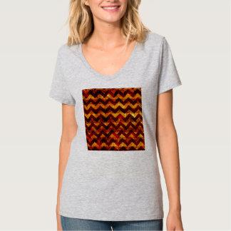 Grunge indio Chevron Camiseta
