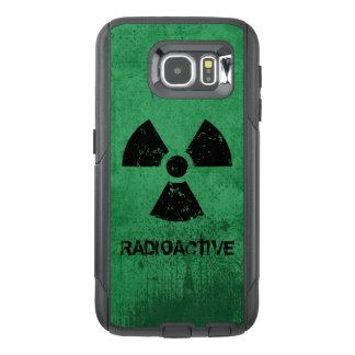Grunge radiactivo del Selecto-UNO-Color Funda OtterBox Para Samsung Galaxy S6