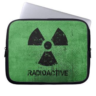 Grunge radiactivo del Selecto-UNO-Color Funda Para Portátil