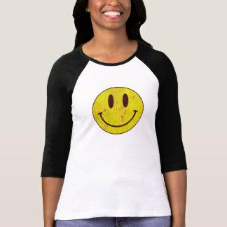 Grunge sonriente camiseta
