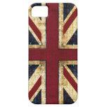 Grunge Union Jack iPhone 5 Case-Mate Cárcasa