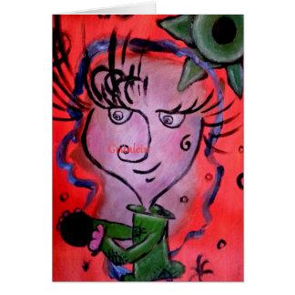 Grünlein Arte Card de amistad Tarjeta De Felicitación